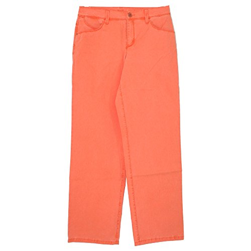 Mac, Gracia New, Damen Damen Jeans Hose Gabardine Stretch Neonorange D 40 L 34 Inch 31 [20804]