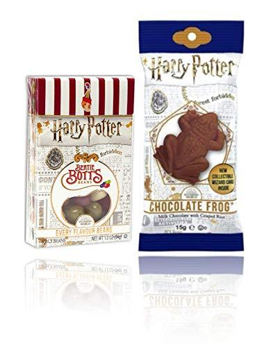 Harry Potter Jelly Belly Bertie Botts Bohnen 35g und Schokoladenfrosch