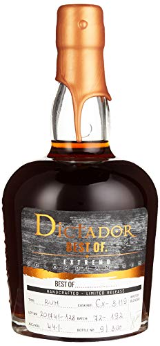 Dictador BEST OF 1972 EXTREMO Colombian Rum Limited Release (1 x 0.7 l)