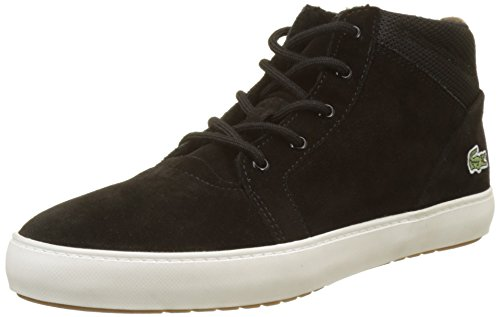 Lacoste Damen Ampthill Chukka 417 1 Caw Hohe Sneaker, Schwarz (Blk), 39 EU