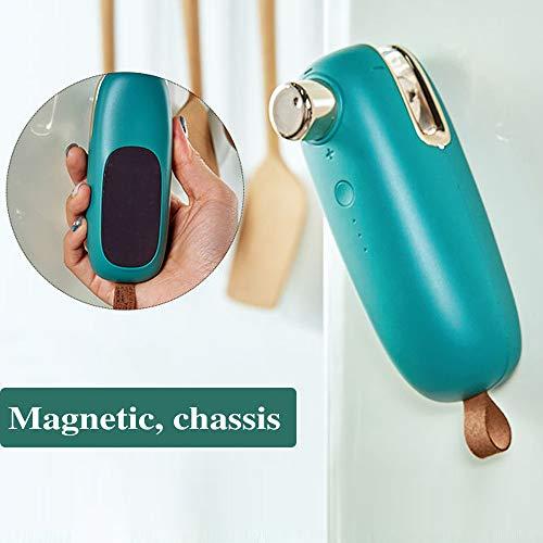 4YANG Mini Sigillatore Termico Mini-Sigillante Per Alimenti Portatile Bag Sealer USB 2 in 1 Ricaricabile Mini Termosaldatrice Portatile Per Sacchetti Di Trucioli, Sacchetti di Snack e Cereali