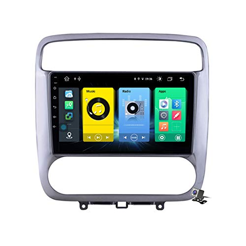 Buladala Android 10 MP5 Player GPS Navegación para Honda Stream 1 2000-2006, Soporte WiFi 5G DSP/FM RDS Radio de Coche Estéreo/BT Hands-Free Calls/Control del Volante/Carplay Android Auto,7862: 6+128