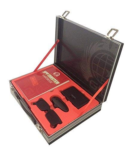 Spy Master Briefcase Black Spy kit - Secret agent mission handbook with top spy gear and gadget surveilance by Top That! (2011-11-09)