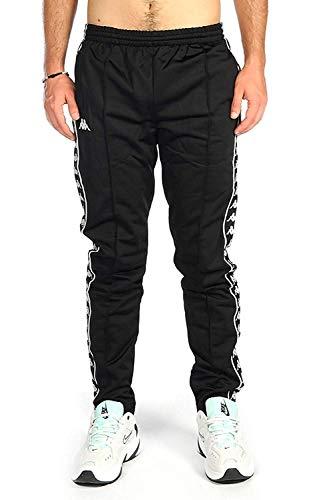 Kappa Pantaloni Jogging 301EFS0 Black - Black Size:L