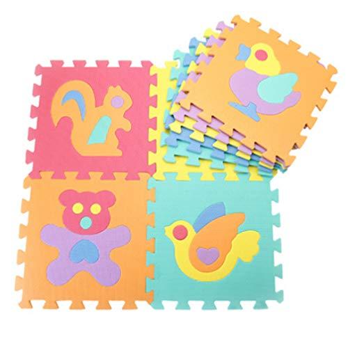 Toporchid Baby Playmats Floor Puzzles spielen Mats Floor Exercise Mats Protective Flooring (Style, 4)
