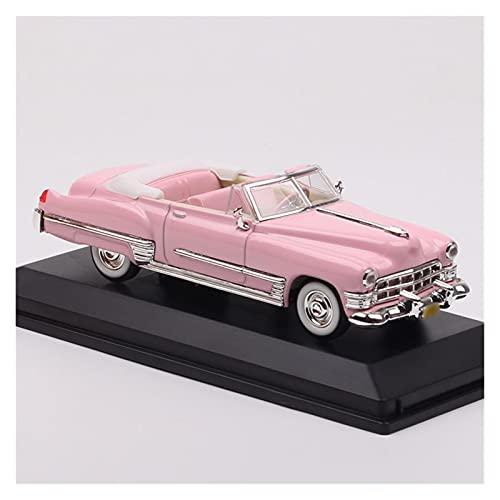1/43 Escala para Ca-dillac para De Ville 1949 Modelo Convertible Vehículos Diecast Modelo Coche De Juguete Regalo para Niños Recuerdo Aleación...