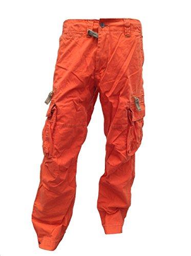 Molecule Herren Cargo Hose 50005 (L, Orange)