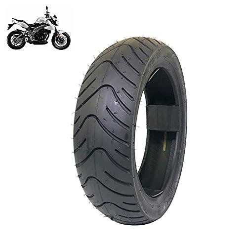 Neumáticos scooters eléctricos, neumáticos vacío 110 / 70-12, bandas rodadura antideslizantes ensanchadas, líneas desgaste más profundas, comodidad baja resistencia, neumáticos motocicletas todo ter