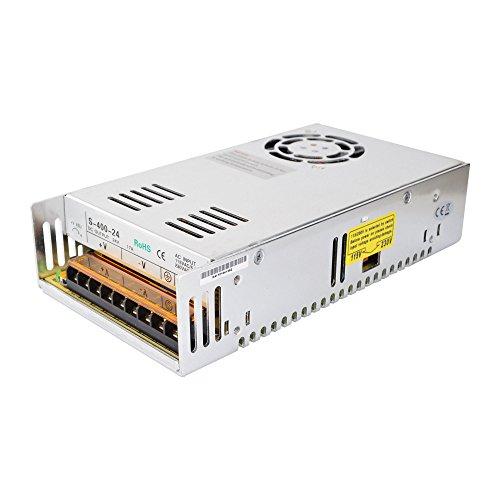 STEPPERONLINE DC24V 400W 16.7A Schaltnetzteil/fuente de alimentación Schrittmotor 115V/230V para impresora 3D LED tiras luces CCTV proyecto