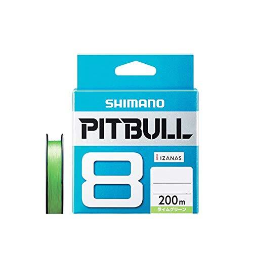 シマノ ピットブル8 200m PL-M68R ライムグリーン(shi-pitbull8-200)|0.8号