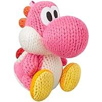 Yoshi's Woolly World Pink Yarn Yoshi amiibo Figure