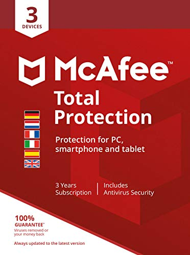 McAfee Total Protection 3 Device 36 Month (Code in a Box)