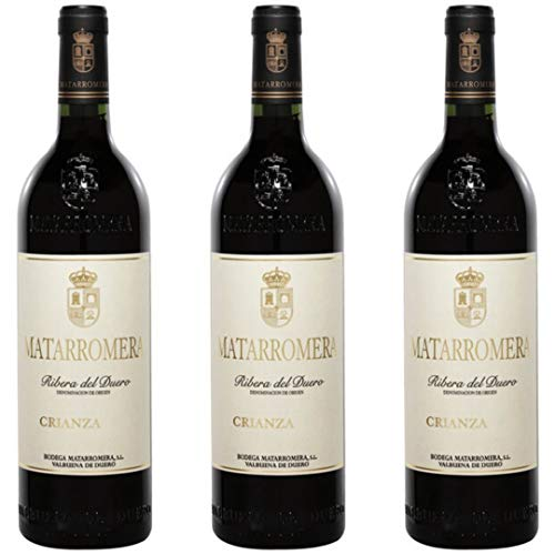 Matarromera Crianza Vino Tinto - 3 botellas x 750ml - total: 2250 ml