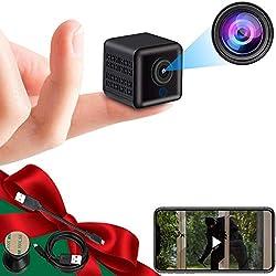 commercial 4K Wireless Hidden Camera Mini Camera Portable Mini HD Babysitter Camera, Night Vision and Movement … 4k cameras for live streaming