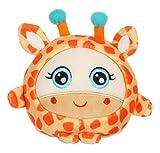Gipsy- Peluche squishimals 10 cm Girafe Gigi, 071012