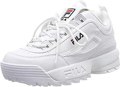 FILA Disruptor, Zapatillas Mujer, Blanco (White), 36 EU