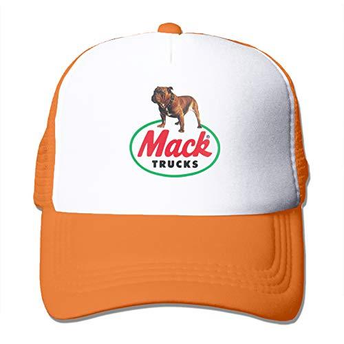 Mack Truck Hat Adjustable Trucker Mesh Snapback Hats Dad Caps Black Baseball Cap