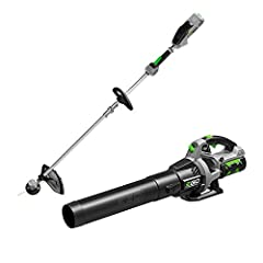 Includes 15'' String Trimmer, 530CFM Blower, 2. 5Ah battery & Charger 530 CFM Blower equipped with a high-efficiency brushless motor that delivers a lightweight, compact design for a longer run time, reduced vibrations and extended motor life 15'' st...