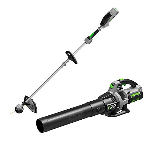 EGO Power+ ST1502LB 15-Inch String Trimmer & 530CFM Blower Combo Kit with 2.5Ah Battery and Charger Included, Black