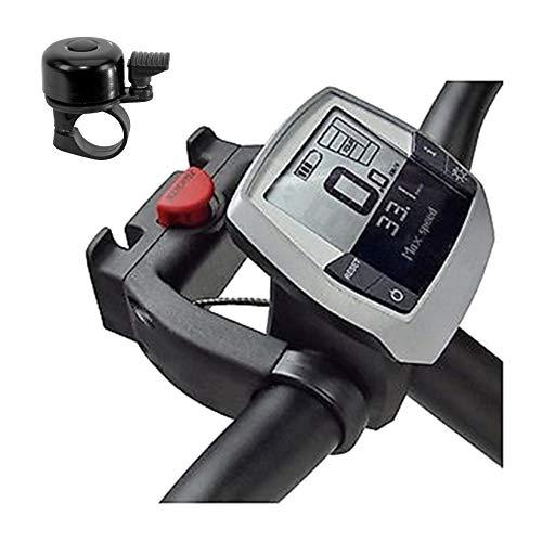 maxxi4you Angebot-Set Klickfix Lenkeradapter E Korb Karten Taschenhalter Standard 22-31,8 mm inkl. Fahrradglocke