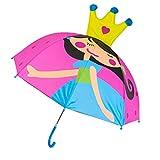 Angelliu - Paraguas de Dibujo Animado con Orejas de Animal, Personalizado, Princesa Larga, Paraguas para decoración de Boda, Cortavientos 8