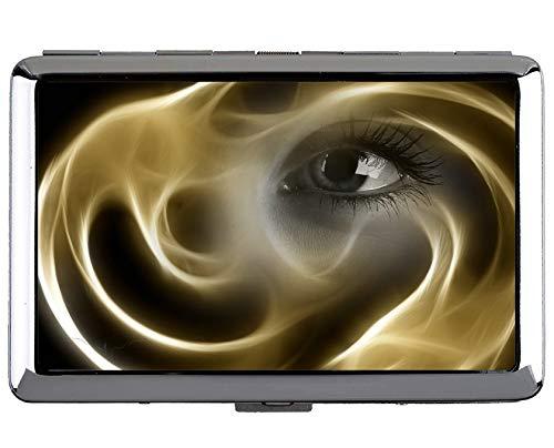 Yanteng Pocket Carry Box, Soul Eye Smoke Professioneller Visitenkartenhalter
