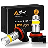 Alla Lighting 3,000-K Yellow Led Fog Light Bulbs