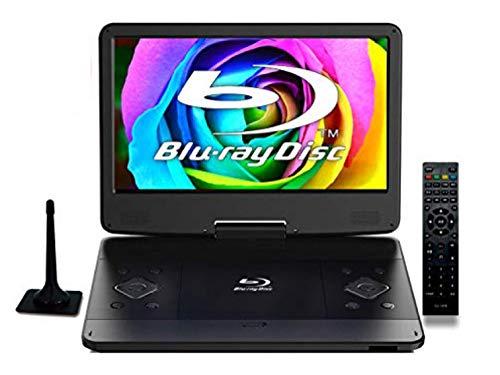 Superbe14インチフルセグポータブルブルーレイプレーヤーBDDVDプレイヤー大画面フルハイビジョン地上波ワンセグ機能オリジナルクリーニングクロスセット
