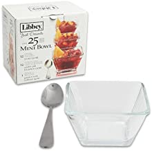 Libbey 56161 Just Desserts Square Bowl