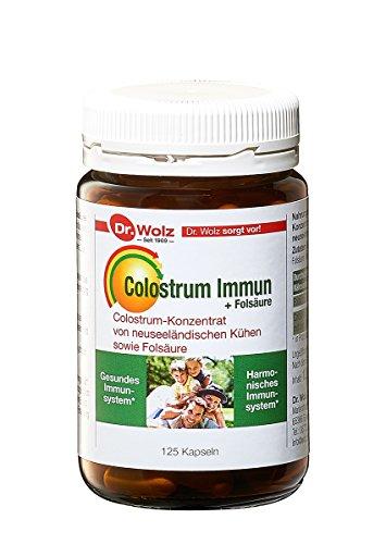Colostrum Immun von Dr. Wolz, mit hochwertigem Colostrum aus Neuseeland, 125 Stück