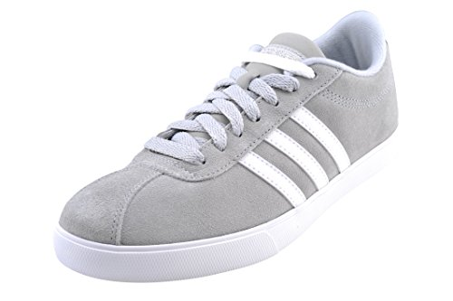 adidas Women's Shoes | Courtset Sneakers, Light Onix/White/Metallic Silver, (9.5 M US)