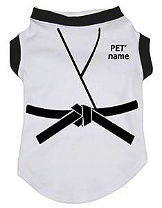 Petitebelle personnalisé Judo Blanc Coton Chemise Chiot Vêtements