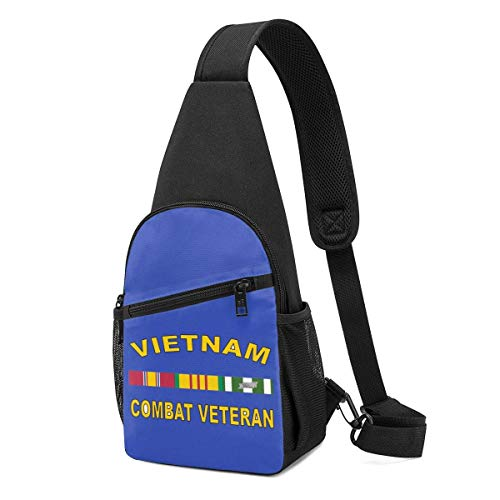 XCNGG Vietnam Combat Veteran Chest Backpack Chest Pack Ultra Lightweight Backpack