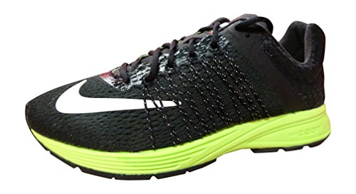 Nike Air Zoom Streak 3 Mens Running Trainers 641318 Sneakers Shoes (US 7, Black White Reflective Silver Volt 007)
