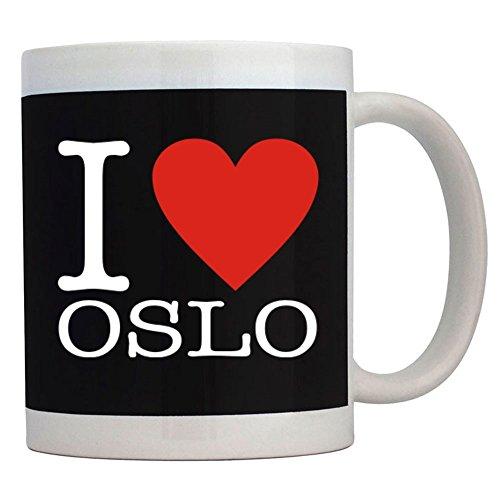 Teeburon I Love Oslo Classic Taza