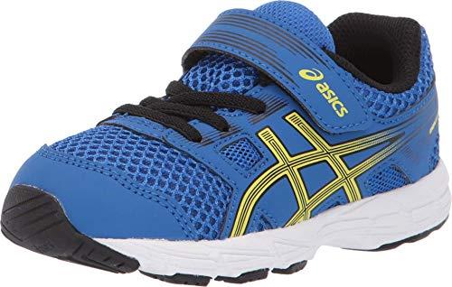 ASICS Kid's Contend 5 TS Running Shoes, K4M, Illusion Blue/Lemon Spark