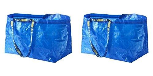 フラクタ FRAKTA キャリーバッグ L ブルー イケア IKEA 201 884 83 2セット