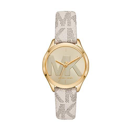 Michael Kors - Reloj de Cuarzo de Cuero para Mujer MK2861