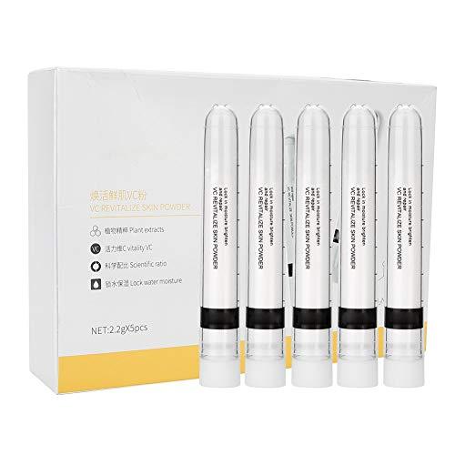 Vitamin C Pulver, 5pcs VC Puder-Gesichts-Pickel entfernen das weiß werdene aufhellende Puder-Serum,...