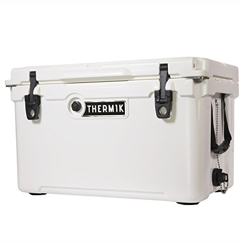Thermik High Performance Roto-Molded Cooler, 45 qt, White