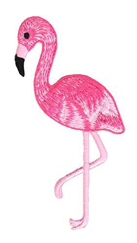 Flamingo Aufnäher Bügelbild