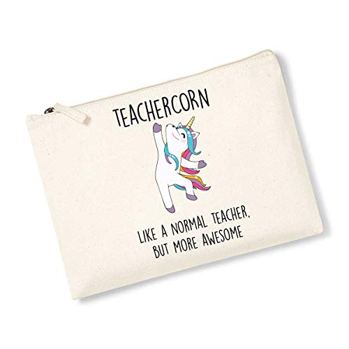 Teachercorn Trousse de toilette Motif licorne