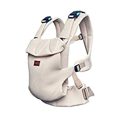 Easy practical: quickly strapped and adaptable to any body shape, thanks to the magnetic buckles simply open and close with one hand. Choice of three carrying positions Easy healthy: ergonomic carrying position for parents and baby (confirmed by the ...