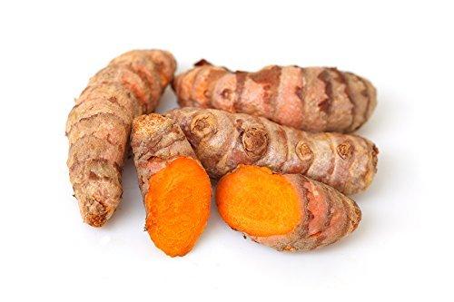 Fresh Yellow Turmeric Root - 2 Lbs. Save Money. Great Health Benefits. ขมิ้นสด TastePadThai