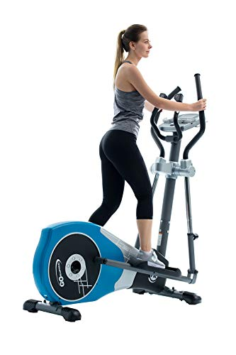"""GOELLIPTICAL V-450T Standard Stride 17"""" Programmable Elliptical Exercise Cross Trainer with Adjustable Arms and Pedals and HRC Control for Cardio Fitness Strength Conditioning Workout at Home or Gym"""