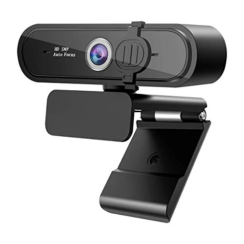 ウェブカメラ web カメラ pc 2k 500万画素 HD 1080P オートフォーカス 7層光学ガラスレンズ 広角 HDR機能付
