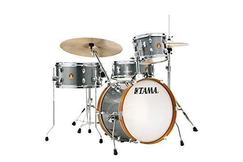 Tama Club Jam 10/14/18/5x13 4pc. Kit de batería Galaxy Silver