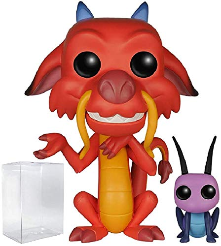 Funko Pop! Mushu & Cri-Kee Collectibles   Best Gifts for Mulan Fans