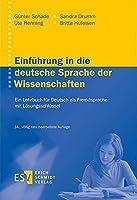 Einfuehrung in die deutsche Sprache der Wissenschaften: Ein Lehrbuch fuer Deutsch als FremdspracheMit einem Loesungsschluessel online