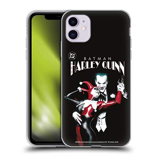Head Case Designs sous Licence Officielle The Joker DC Comics Batman: Harley Quinn 1 Art Personnage Coque en Gel Doux Compatible avec Apple iPhone 11